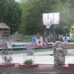 New basketball court for family fun!