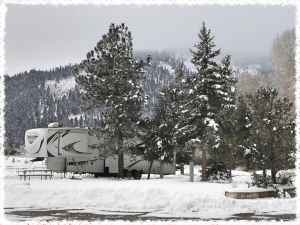 Peacock Meadows Riverside RV Park, South Fork's newest RV park, caters to winter enthusiasts!