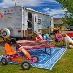 Trailer to rent at Yogi Bear's Jellystone Park of Black Canyon in Montrose