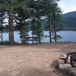 Many water activities and fishing when you camp at Wellington Reservoir in Bailey, CO