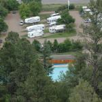 Aerial view of Westerly RV Park.