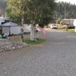 Room for big rigs and slide-outs at Aspen Ridge RV in South Fork, CO