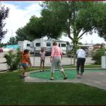 Enjoy a round of mini golf with your family, or challenge other campers at Cedar Creek RV Park (Montrose CO)