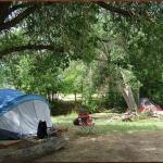 Primitive creekside tent sites available at Cedar Creek RV Park (Montrose CO)