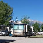 Amazing mountain views and room for the biggest of big rigs at Chalk Creek RV Park & Campground near Buena Vista Colorado