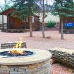 Bunkhouses offer an alternative, each with a queen or double bed and bunkbeds. Garden of the Gods RV Resort in Colorado Springs.