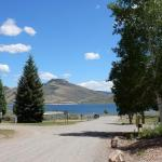 Great views of Blue Mesa Reservoir at Gunnison Lakeside RV Park and Cabins in Colorado