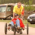 Fun Cycles are the vehicle of choice at Steamboat Springs KOA