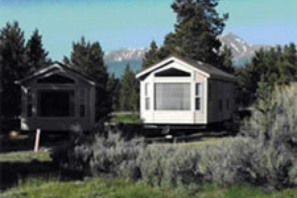 Stay in a cabin at Sugar Loafin' RV Campground & Cabins in Leadville, CO
