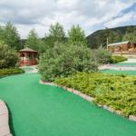 Mini golf fun at Yogi Bear's Jellystone Park of Estes (Estes Park Colorado)