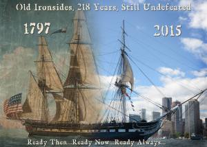 USS Constitution 1797 - 2015