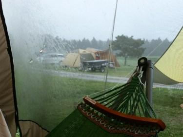 楽しみにしてたキャンプが台風!?キャンセルするべき?
