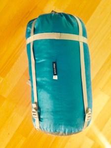 my new marmot bag in it's sack
