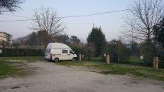 Campingplatz in Cassino, Italien