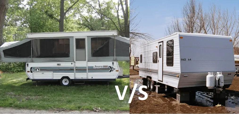 Pop up camper vs travel trailer (detailed guide to decide ...