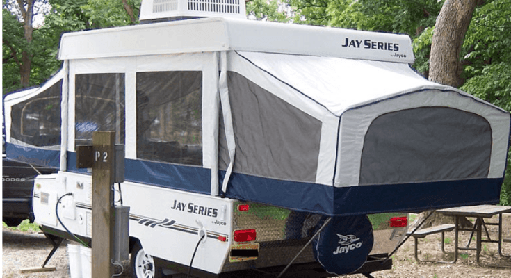 How to add an air conditioner to a pop-up camper - Campergrid