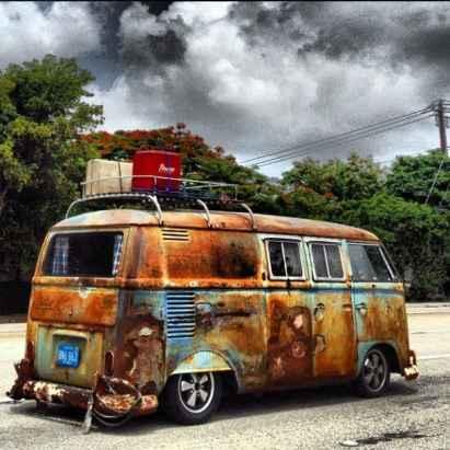 Camper Van Design For VW Bus024
