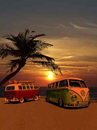 Camper Van Design For VW Bus064