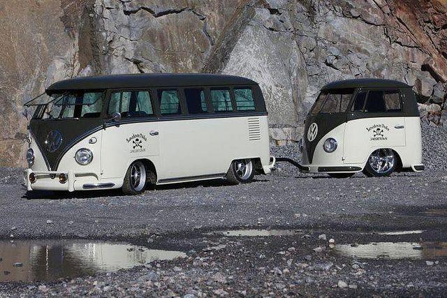 Camper Van Design For VW Bus070