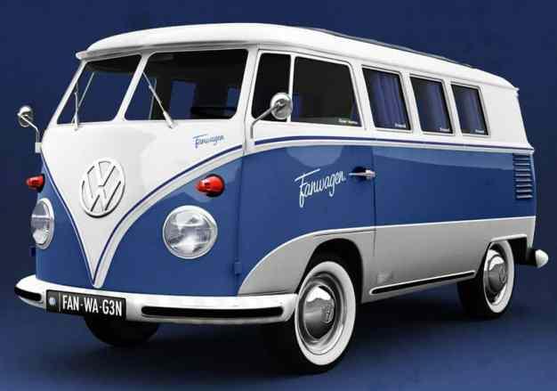 Camper Van Design For VW Bus107