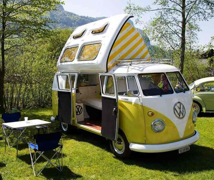 Camper Van Design For VW Bus108