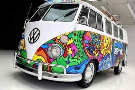 Camper Van Design For VW Bus112