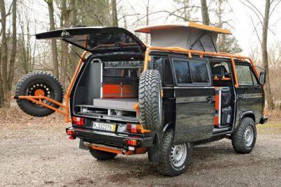 Camper Van Design For VW Bus126