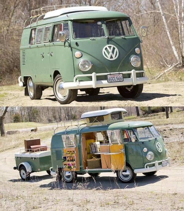 Camper Van Design For VW Bus127