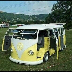 Camper Van Design For VW Bus149
