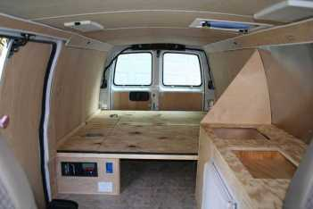 Interior Design For Camper Van41
