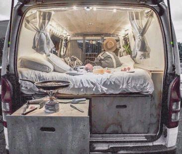 Mobile Rik Built A Homemade DIY Truck Camper25
