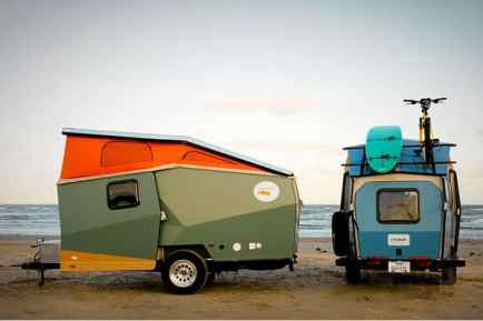 Best Cool Caravans, Camper Vans (RVS) Ideas For Traavel Trailers15