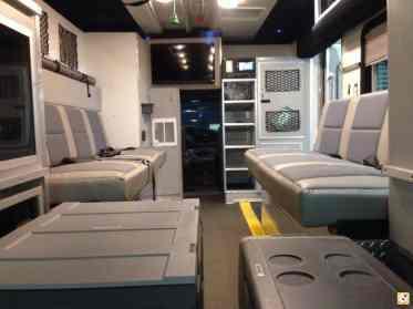 Van Ambulance Cargo Trailer Conversions31