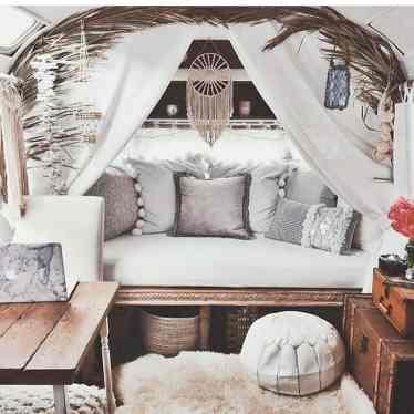 Vintage Camper Interior 16