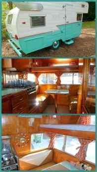 Vintage Camper Interior 22