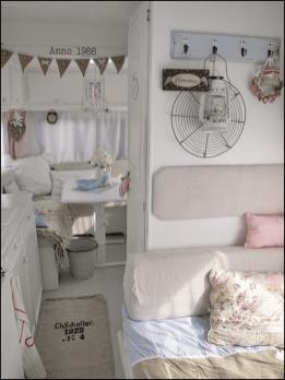 Vintage Camper Interior 23