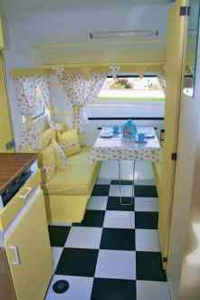 Vintage Camper Interior 25