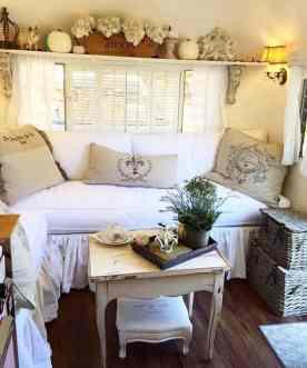 Vintage Camper Interior 26