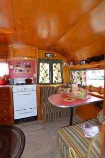 Vintage Camper Interior 28