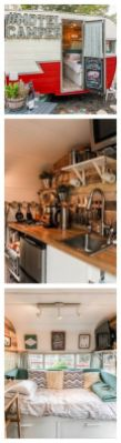 Vintage Camper Interior 40