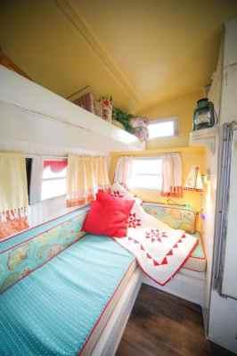 Vintage Camper Interior 44