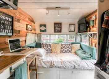 Vintage Camper Interior 50
