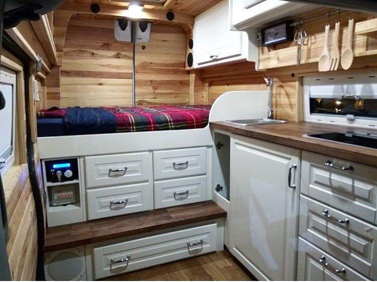 21 Easy Hack Sprinter Van Conversion