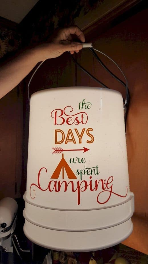 Bucket Lights For Camping 3