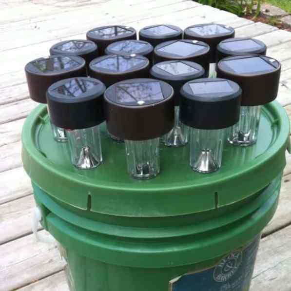 Bucket Lights For Camping 4