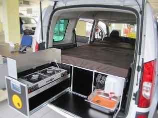 Honda Element Camping 18