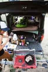 Honda Element Camping 43