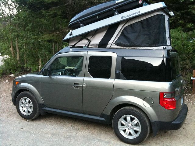 Honda Element Camping 5
