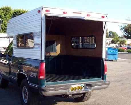 Truck Tent Diy 55