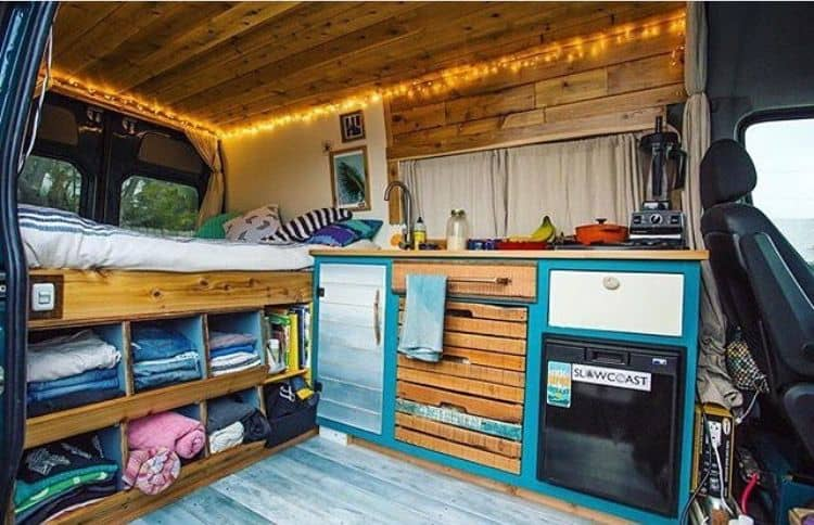 Van Conversion Ideas Layout 32